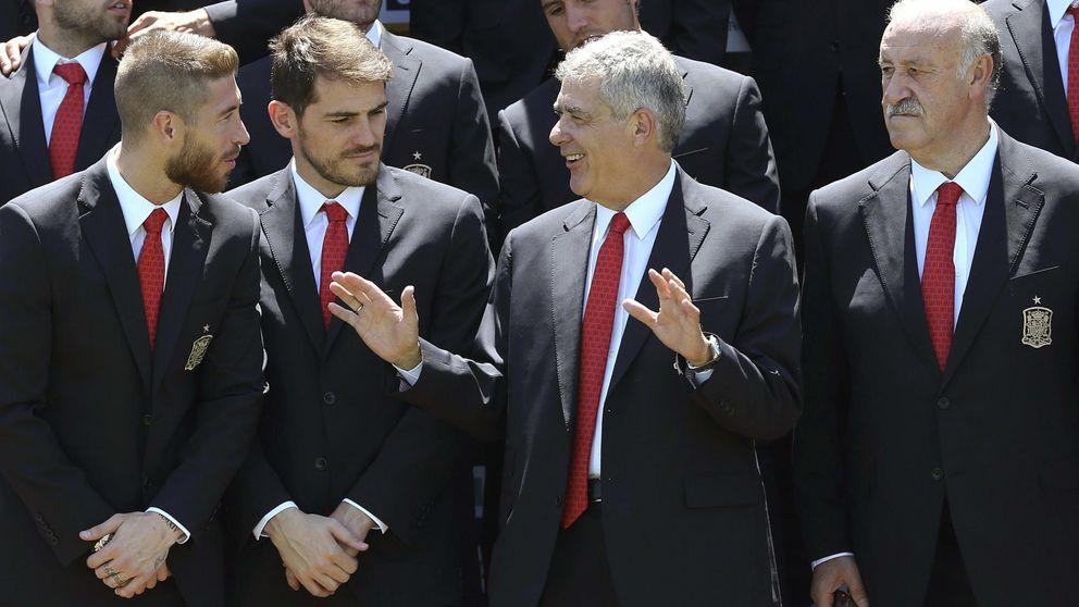 Del Bosque, entre contentar a Villar y aclarar si cuenta o no con Diego Costa