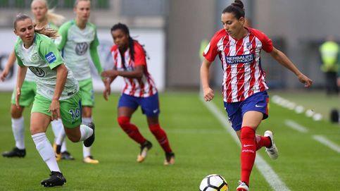 El Atlético de Madrid pierde 12-2 ante el Wolfsburgo en Champions