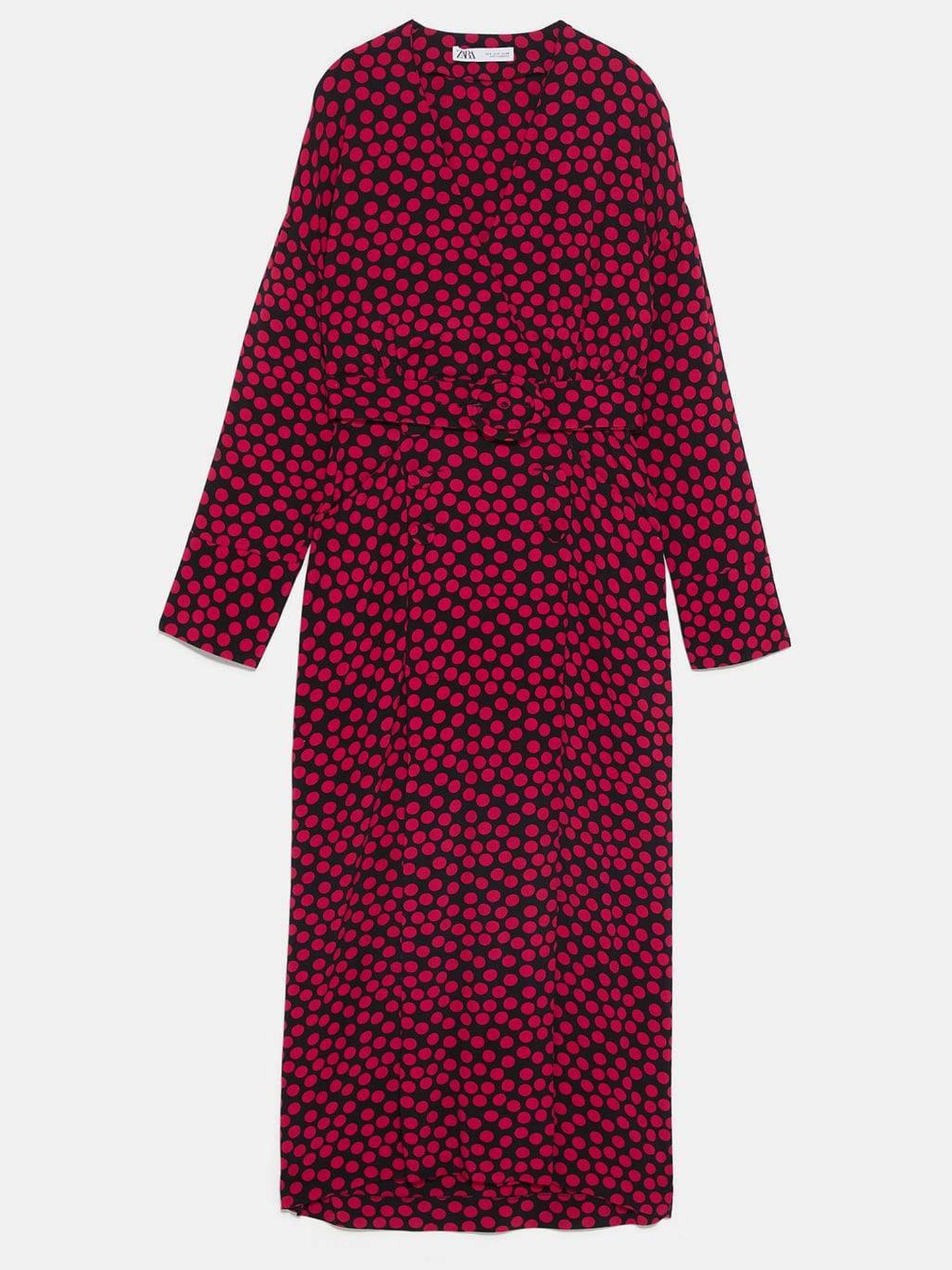 Vestido edición especial Zara. (Cortesía)