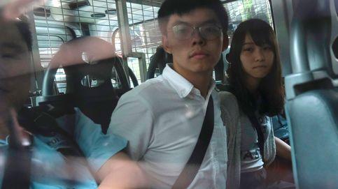 El activista hongkonés Joshua Wong, condenado a 13 meses y medio de prisión