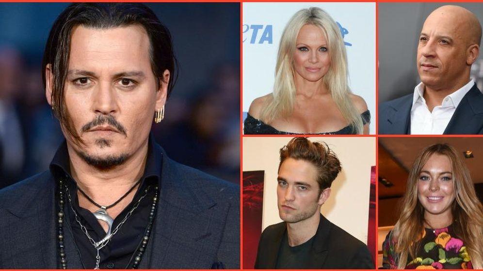 Foto: Algunos de los actores incluidos en el ranking del 'IMDB'. (Gtres)