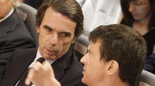 Aznar y Manuel Valls almuerzan en el último 'must' de la gastronomía madrileña