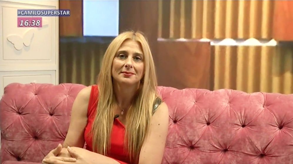 Foto: Fresita, en el estudio de 'Cazamariposas'. (Mediaset)