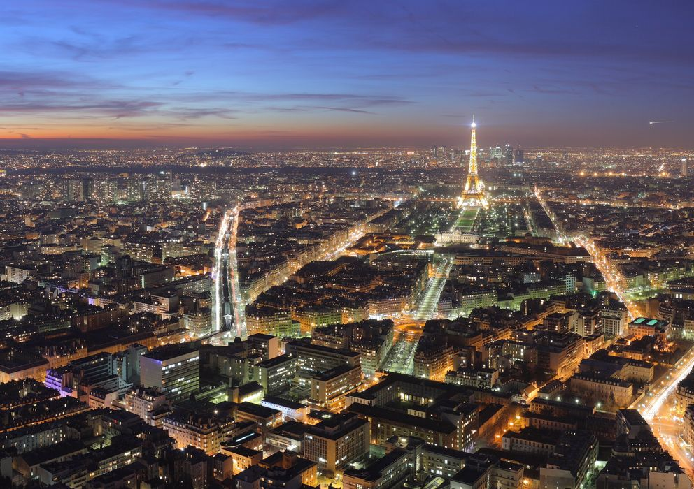 Foto: Panorámica de París desde lo alto de la Torre Montparnasse. (Benh, Wikimedia)