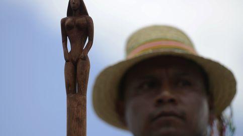 Indígenas colombianos exigen respeto por sus territorios