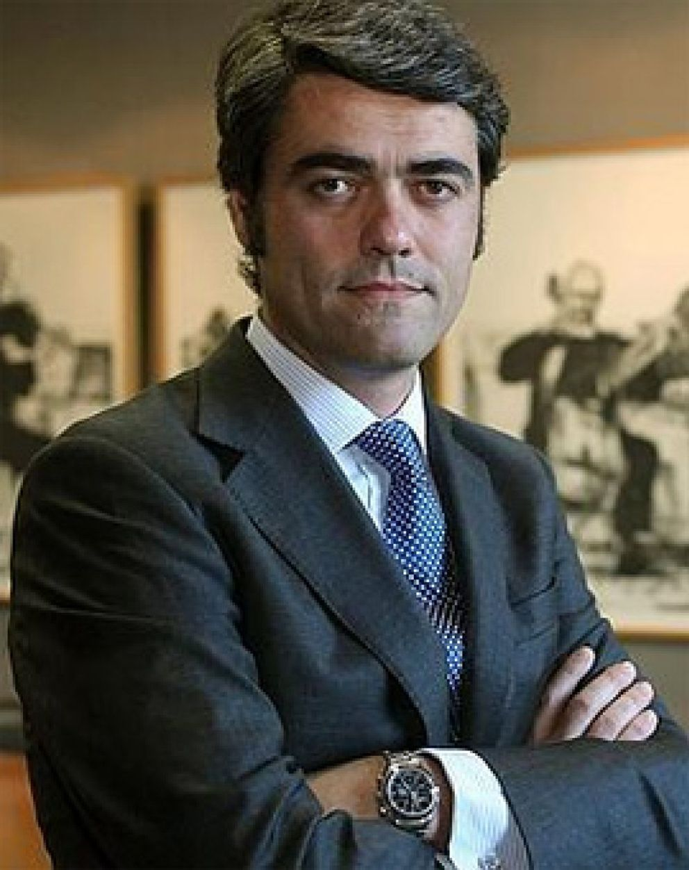 Foto: Luis Enríquez, CEO de Vocento, nuevo jefe del 'lobby' de la prensa española