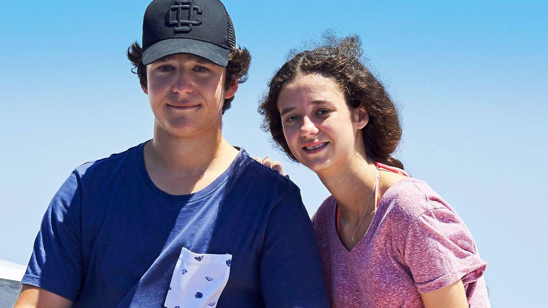 Froilán y Victoria Federica en una imagen de archivo. (Getty)