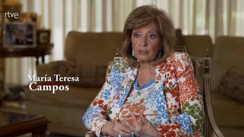 María Teresa Campos, en 'Lazos de sangre'. (TVE)