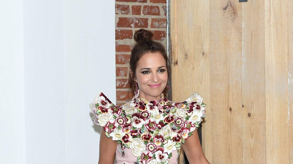 Foto: La actriz Paula Echevarría durante el acto publicitario de Samsung. (Gtres)