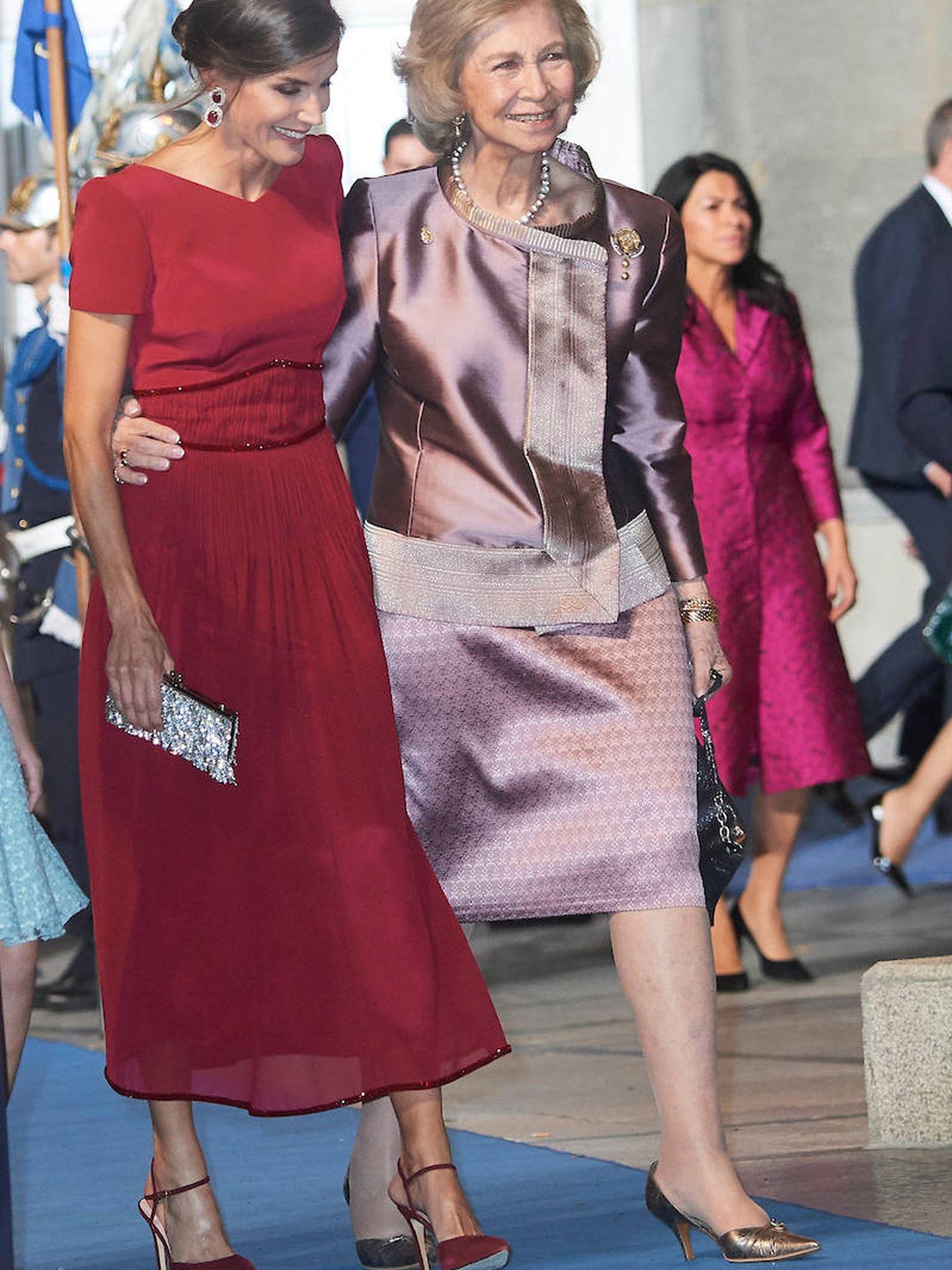 La reina Sofía, en los Premios Princesa de Asturias 2019. (Limited Pictures)