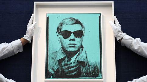 Primer autorretrato de Andy Warhol