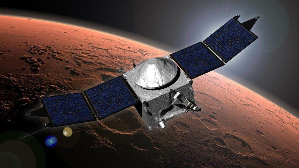 Viajar a Marte a bajo coste: India llega al planeta rojo con 54 millones