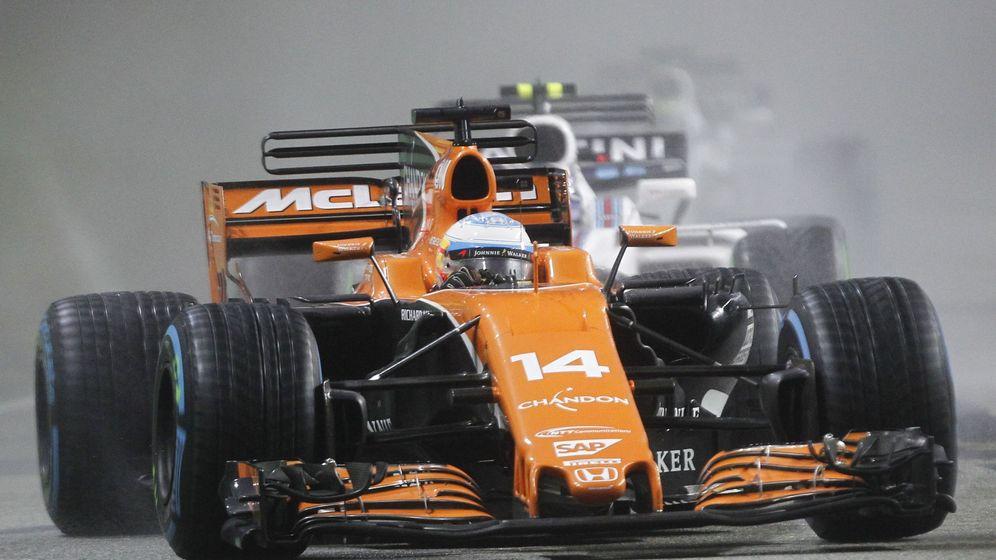 Foto: En la imagen, Fernando Alonso en su coche. (EFE)