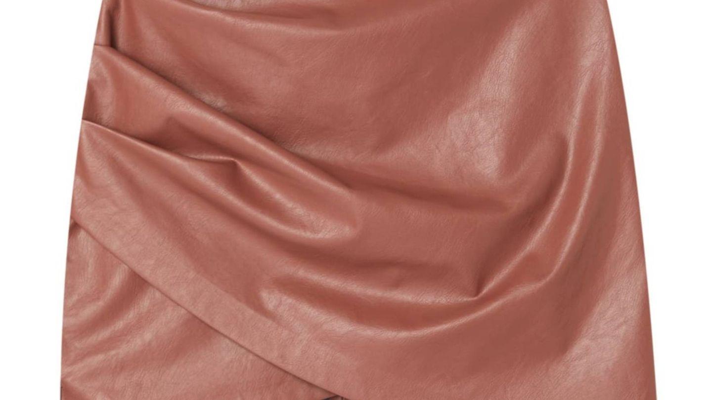 Nueva falda de Stradivarius. (Cortesía)