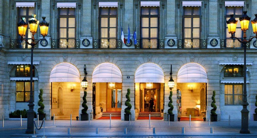 Foto: Fachada del Hotel Ritz de París.