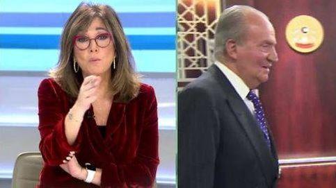 La férrea defensa de Ana Rosa al rey emérito frente al ataque de Pablo Iglesias en 'Salvados'