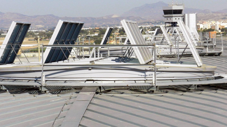 Eficiencia energética en el Aeropuerto de Alicante-Elche.