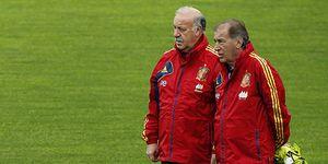 Foto: Toni Grande: Joder, Vicente, no atacan porque les vale este resultado para clasificarse