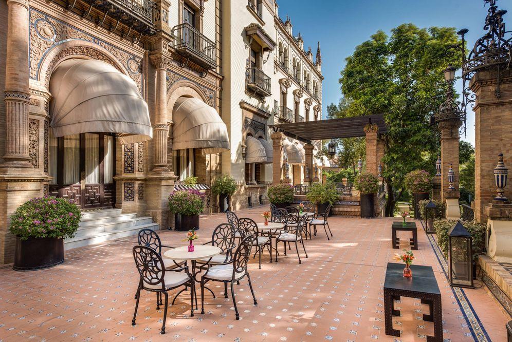 Foto: Un emblemática estampa del hotel Alfonso XIII. (DR)