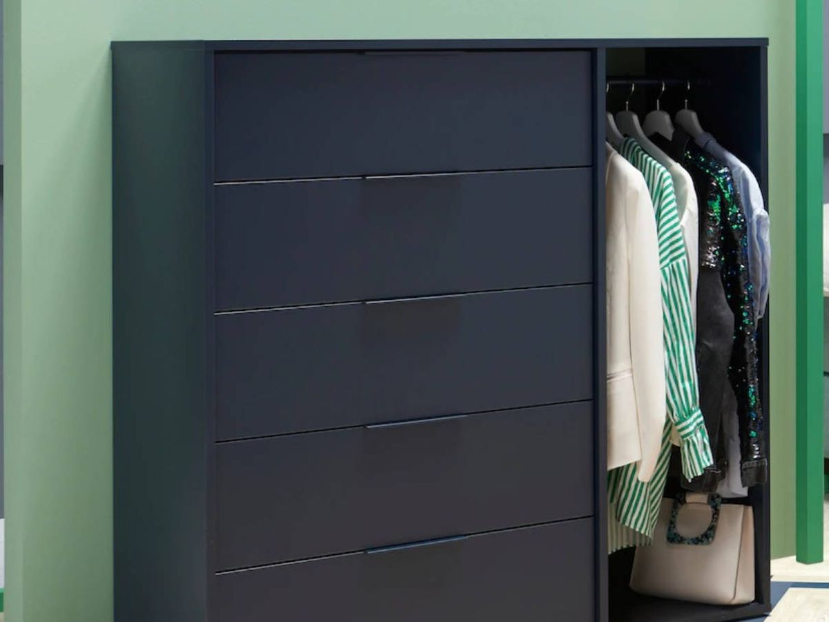 Foto: Esta cómoda de Ikea es perfecta para un dormitorio pequeño. (Cortesía)