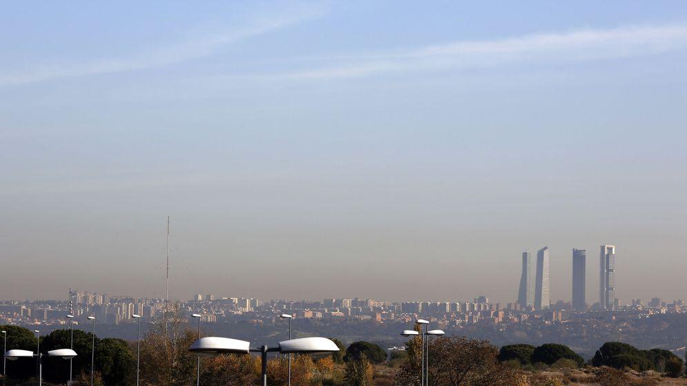 Foto: La contaminación envuelve Madrid el 3 de diciembre de 2015