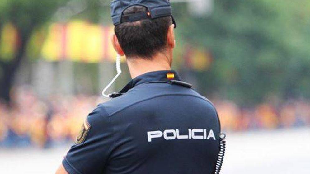 Foto: Agente de la Policía Nacional.