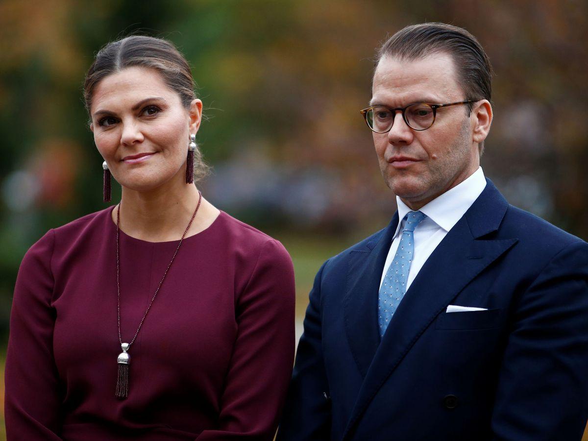 Foto: La princesa Victoria y el príncipe Daniel. (Reuters)