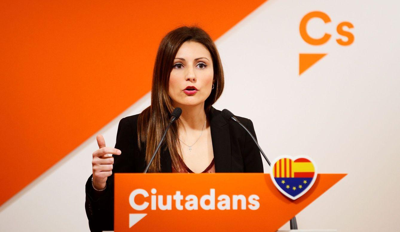 La diputada autonómica y portavoz del partido en el Senado, Lorena Roldán. (EFE)