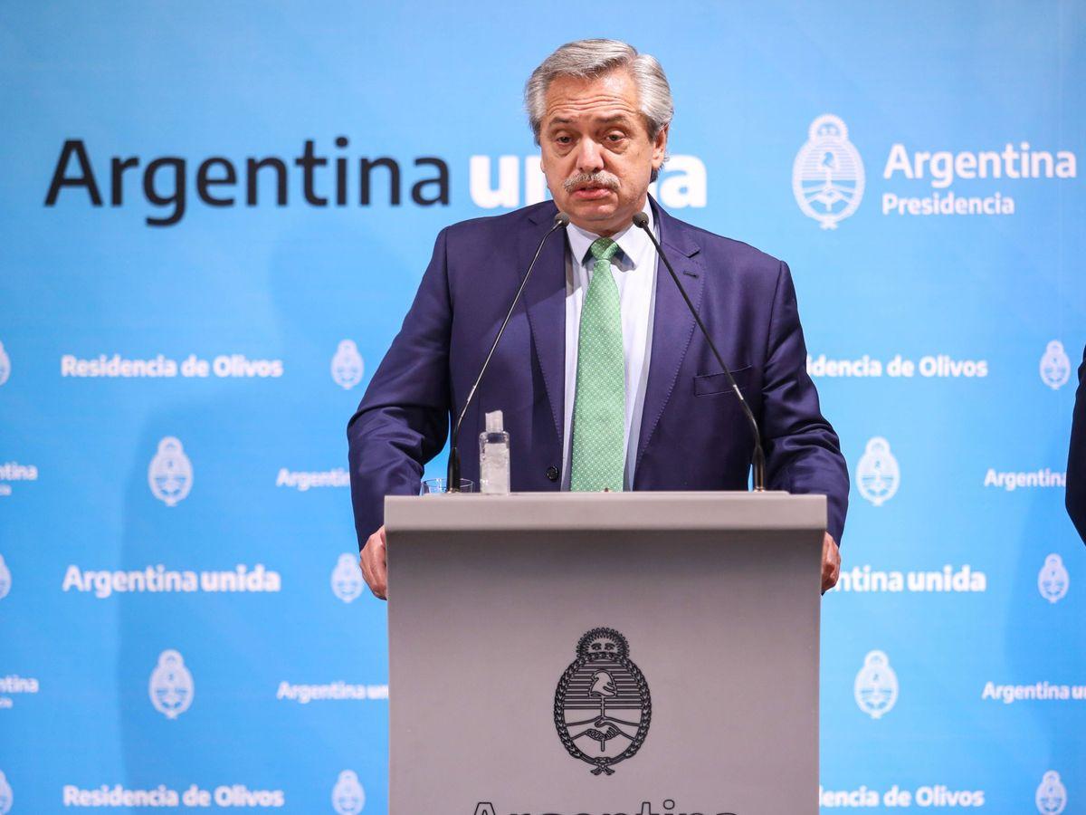 Foto: El presidente de Argentina, Alberto Fernández. (EFE)