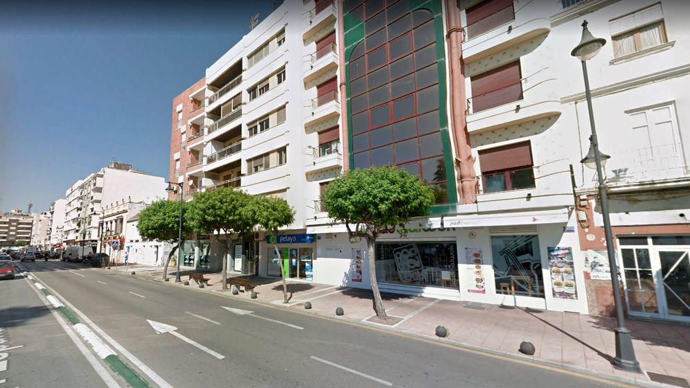Foto: La Avenida de España de Estepona donde se produjo el accidente (Foto: Google Maps)