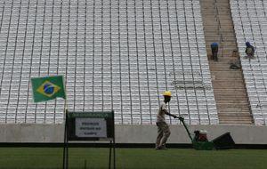 Brasil: los problemas económicos meten un gol a los fastos deportivos