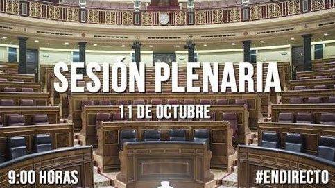 Cataluña centra la sesión de control al Gobierno