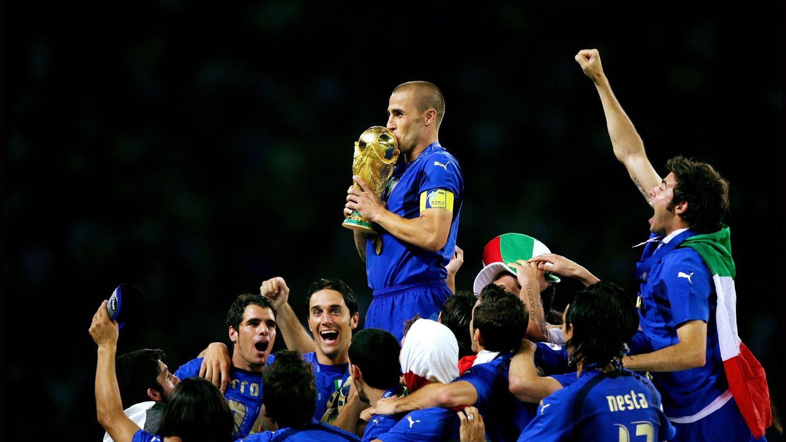 Foto: Italia fue la selección campeona en el Mundial de Alemania (Reuters).