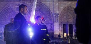 Post de Macron fija en cinco años el plazo para reconstruir una Notre Dame
