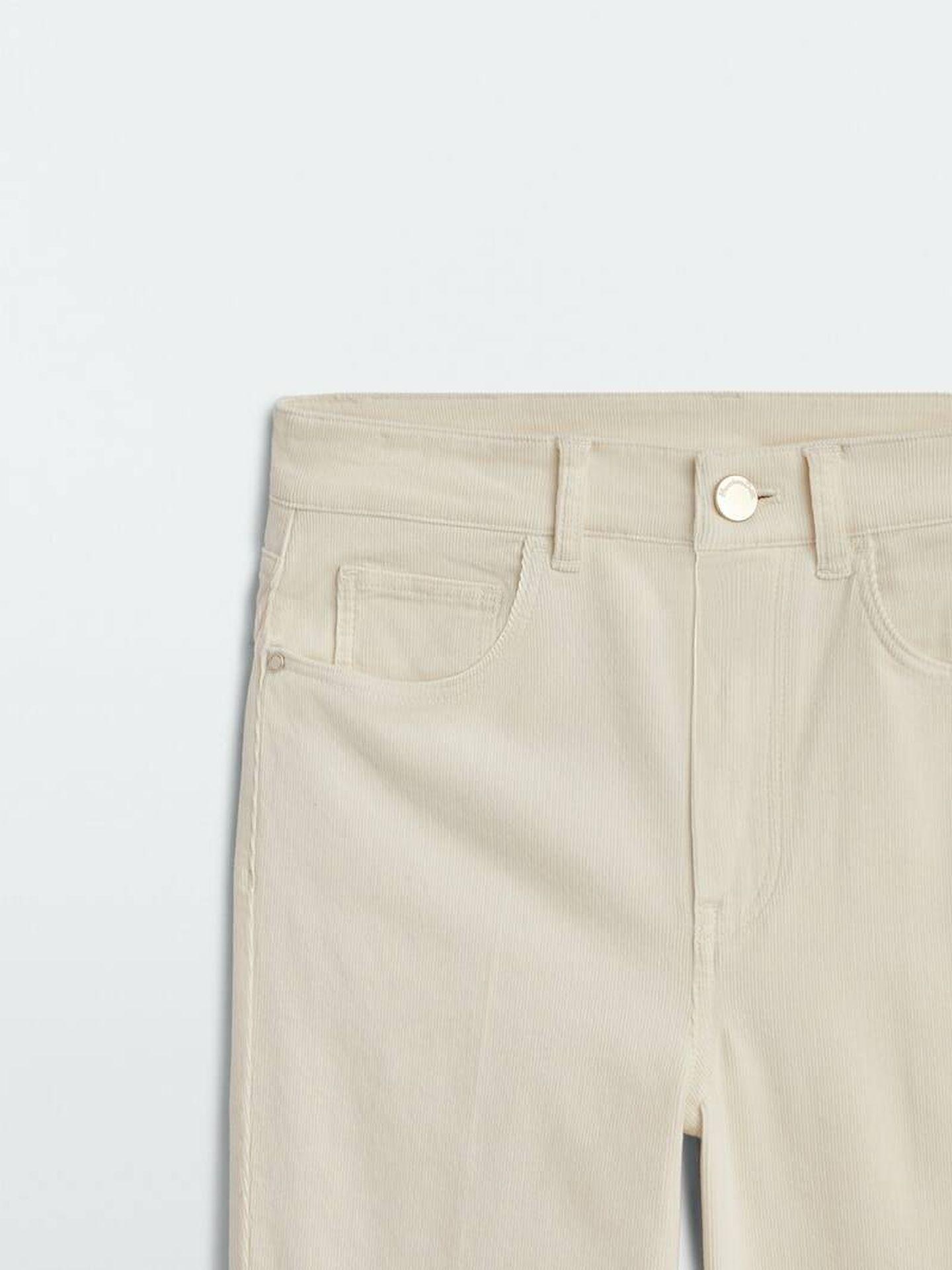 Pantalón de micropana de Massimo Dutti. (Cortesía)