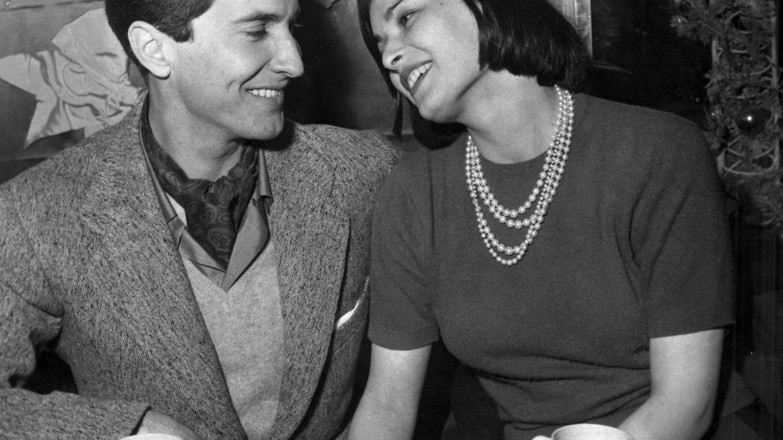 Luis Miguel Dominguín y Lucía Bosé. (Cordon Press)