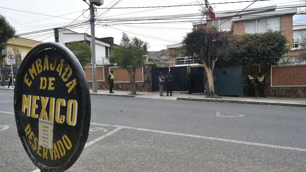 El Gobierno boliviano carga contra Sánchez por el incidente en la Embajada de México