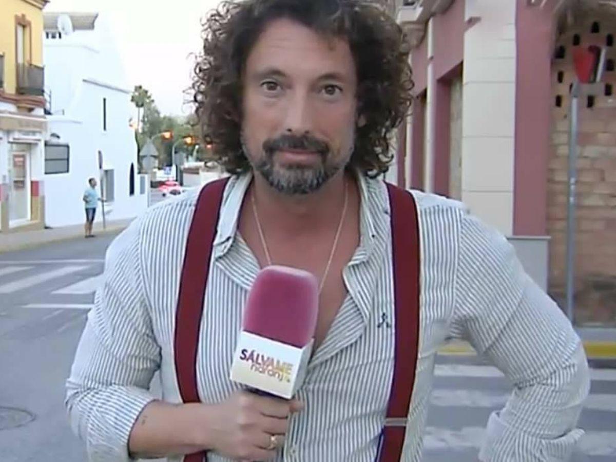Foto: José Antonio León, en 'Sálvame'. (Telecinco)