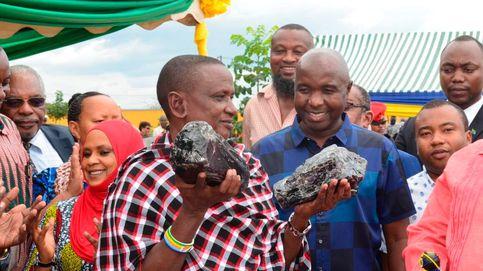 Mejor que la lotería: un minero de Tanzania se hace millonario al hallar dos rocas