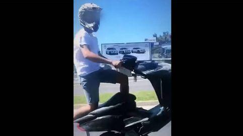 Detenido por conducir de forma temeraria mientras se grababa con el móvil