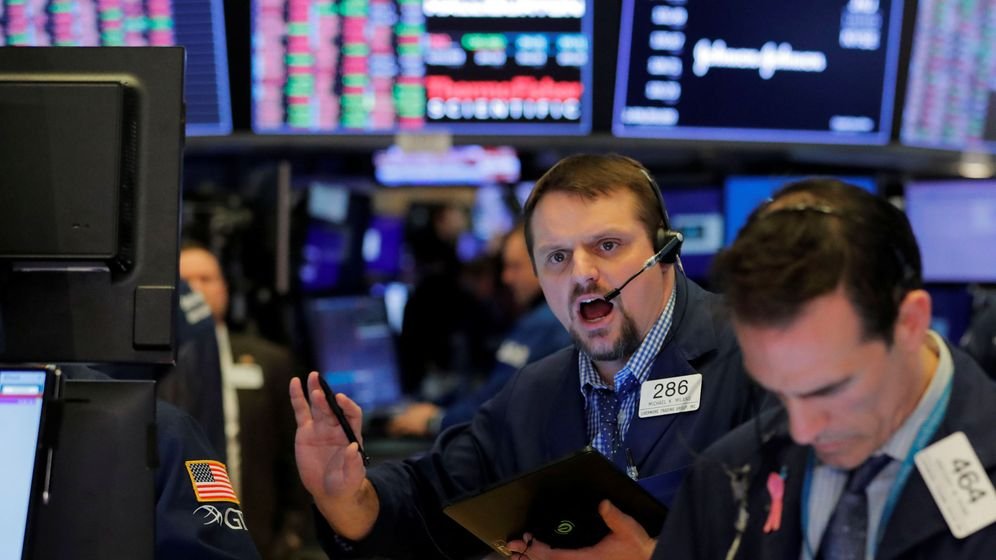 Foto: Traders en la bolsa de Nueva York (Reuters)