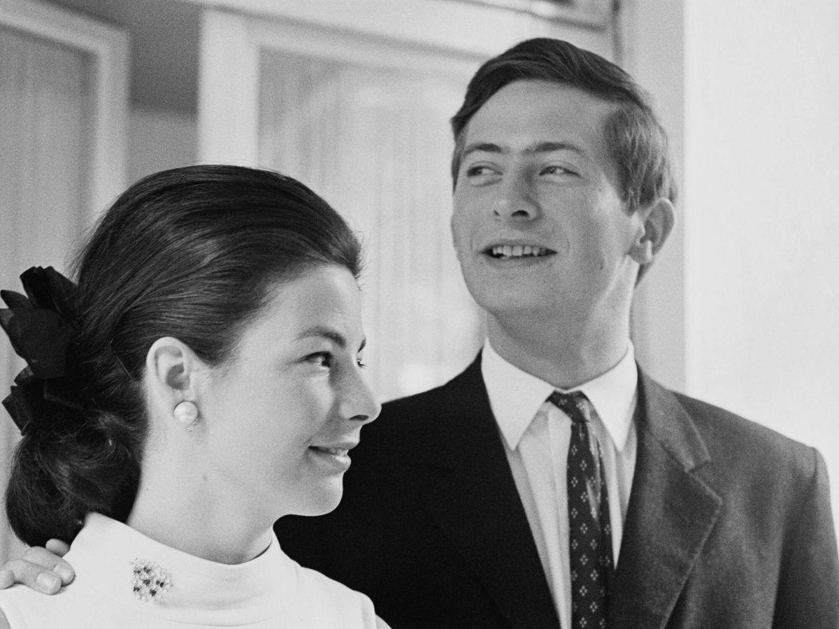 Foto: El príncipe Hans y su mujer Marie, en una imagen de 1967. (Getty)