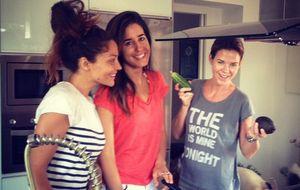 Las 'domingueras' Amelia Bono, Patricia Pérez e Isabel Jiménez