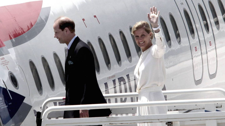 El príncipe Eduardo y su esposa Sophie en una imagen de archivo. (EFE)