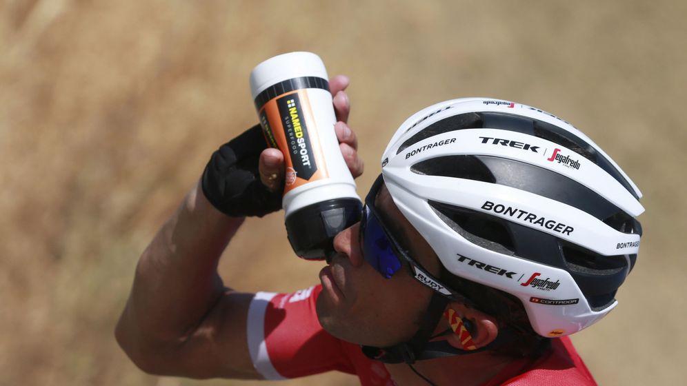 Foto: Contador no acierta con sus ataques. (EFE)