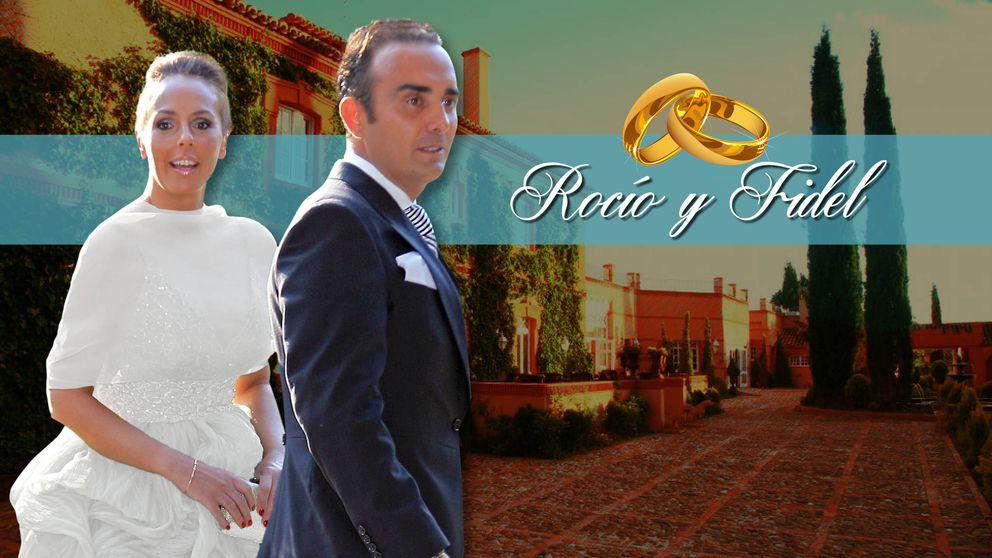 Así hemos vivido en directo la boda de Rocío Carrasco y Fidel Albiac
