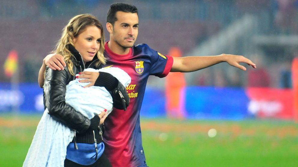 Pedro, exjugador del Barça, padre de un niño llamado Kyle