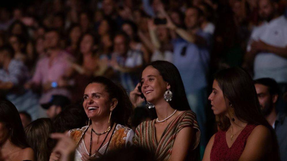 Foto: Victoria Federica en el concierto Starlite.(Cortesía)