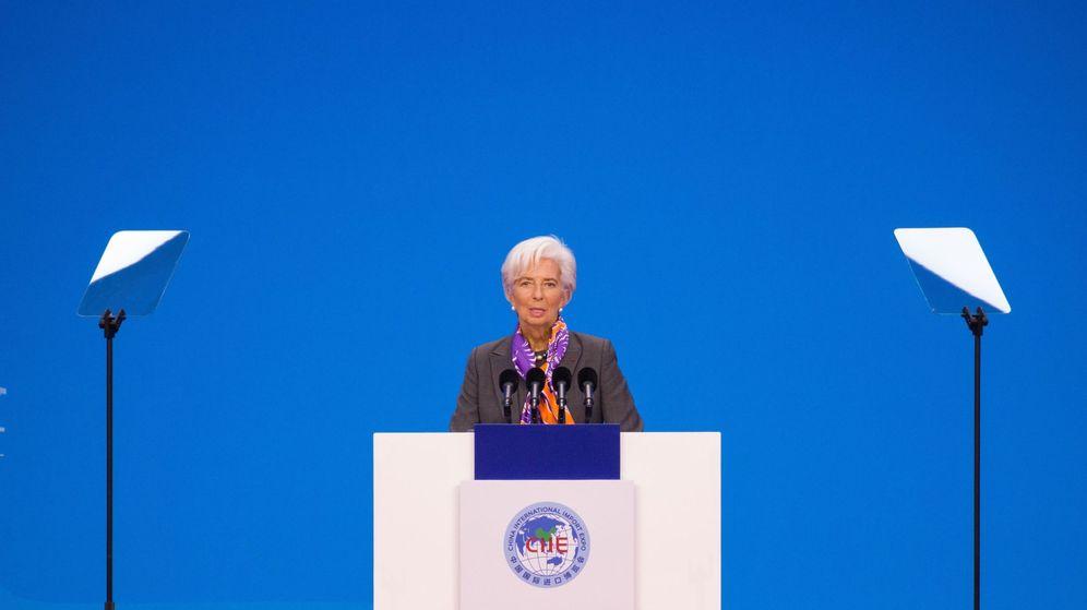 Foto: Christine Lagarde, directora del Fondo Monetario Internacional. (EFE)