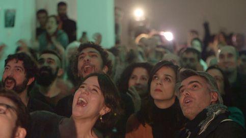 Así se vivió el debate en 'La Morada', el cuartel general de campaña de Podemos